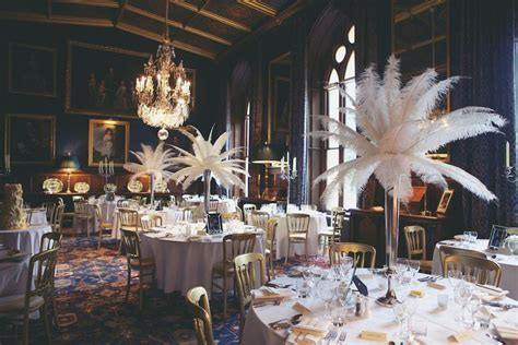 Elaborate 1940s Vintage Castle Wedding: Christina Richard