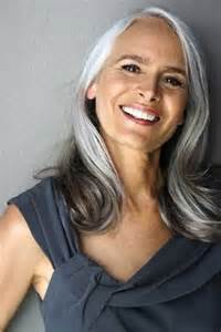 beautiful gray hair streaks long hair styles for older women long hairstyles 2016 2017