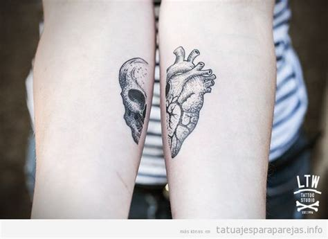 imagenes de tatuajes de union de parejas coraz 243 n archivos tatuajes para parejastatuajes para parejas