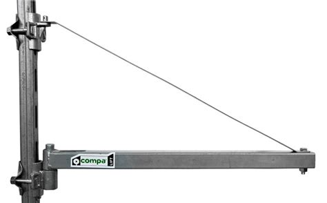 swing arm hoist scaffold electric lifting hoist 250 kg scheppach hrs250