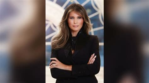 the white house just released melania trump s first