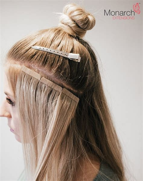 hairstyles for tape hair extensions 17 best ideas about tape hair extensions on pinterest