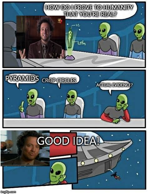 Blank Aliens Meme - alien meeting suggestion memes imgflip