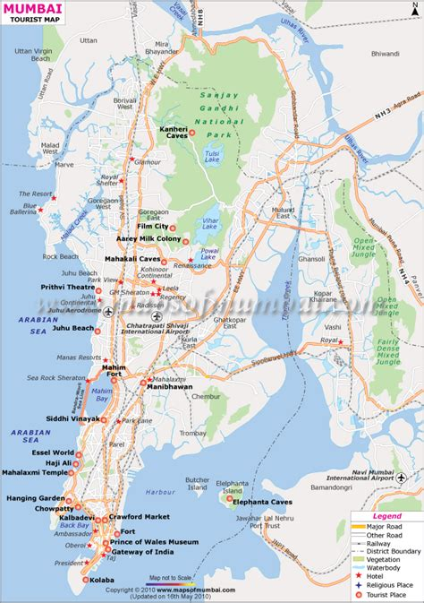 mumbai map pin mumbai city lalbaugcha raja visarjan 2009 on