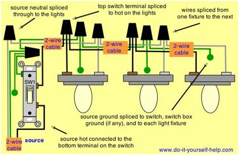 wiring diagram for light fixtures diy vanity