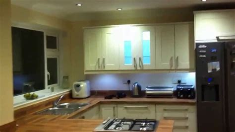 kitchen led lighting refit