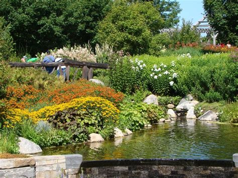 Boothbay Botanical Gardens Botanical Gardens In Boothbay Gardens Landscapes Pinterest