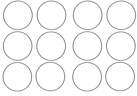 7 best images of blank printable cupcake toppers template
