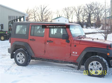 2009 Jeep Wrangler 4 Door by 2009 Jeep Wrangler Unlimited X Sport Utility 4 Door 3 8l Right Drive