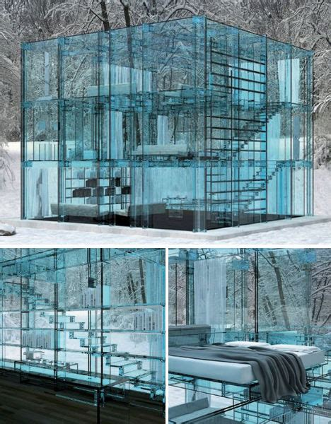 Houses With Stairs crystal castles 15 glittering glass buildings urbanist