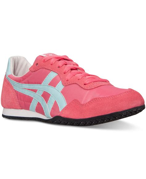 Asic Tiger Onitsuka Casual For 02 asics s onitsuka tiger serrano casual sneakers from finish line in pink lyst