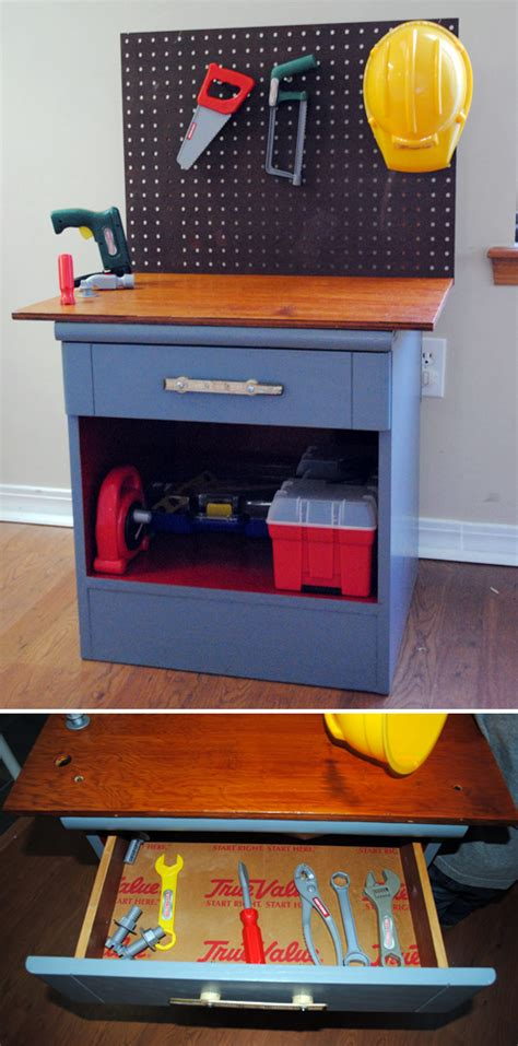 diy kids tool bench build wooden childrens tool bench plans plans download