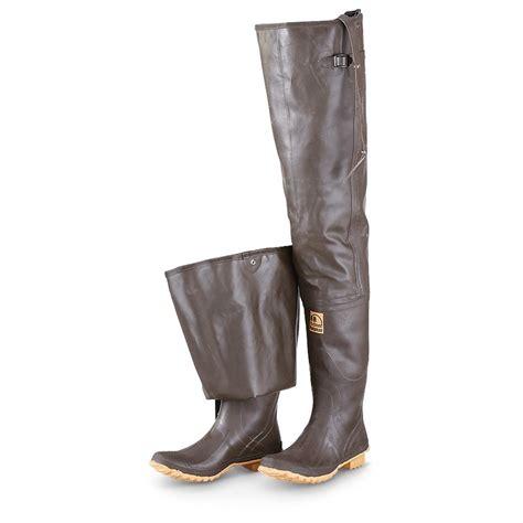 hip mens boots s hodgman 174 caster hip waders brown 608435 waders