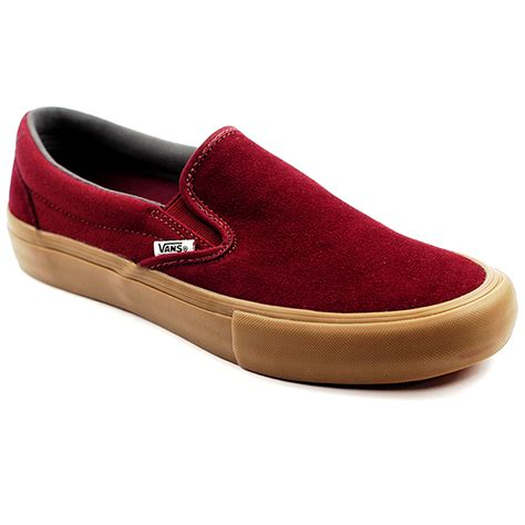 Slip This On by Vans Slip On Pro Port Royal Gum Forty Two Skateboard Shop