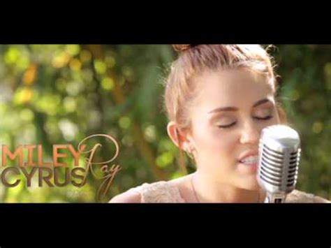miley cyrus backyard sessions lilac wine miley cyrus lilac wine acoustic the backyard sessions