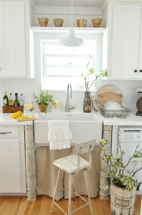 pottery barn kitchen ideas rustic white kitchen pictures