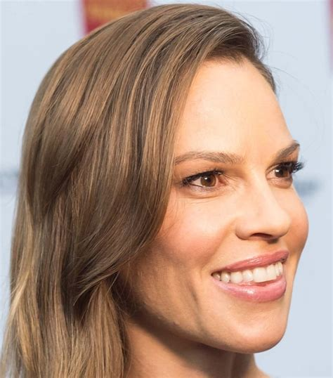 Hilary Swank Opens Up by Hilary Swank Looks Gorgeous In Pilotto And Casadei