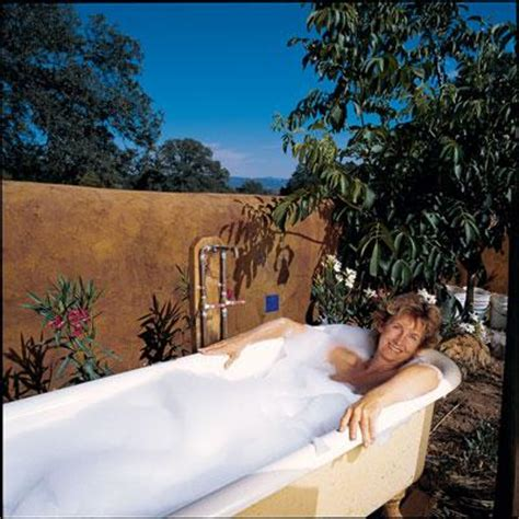 turn bathtub into spa turn a vintage tub into an outdoor hot tub