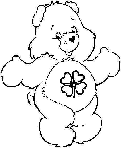 care bear coloring pages coloringpagesabc com