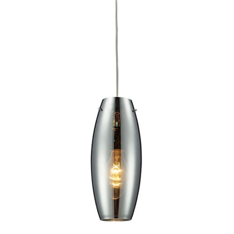 Blown Glass Pendant Light Shades Shop Westmore Lighting Alvingham 5 In W Polished Chrome
