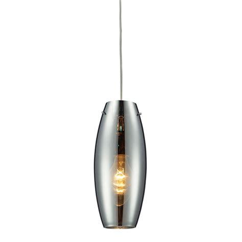 Blown Glass Mini Pendant Lights Shop Westmore Lighting Alvingham 5 In W Polished Chrome Mercury Blown Glass Mini Pendant Light
