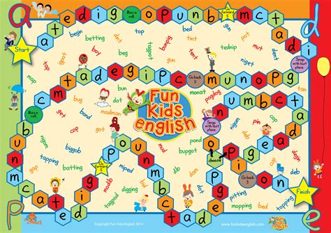 printable board games for kindergarten free reading learning games for kindergarteners