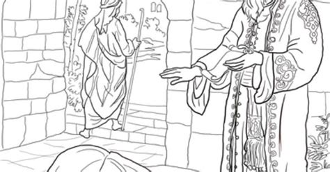 parable    debtors coloring page idei pt scoala