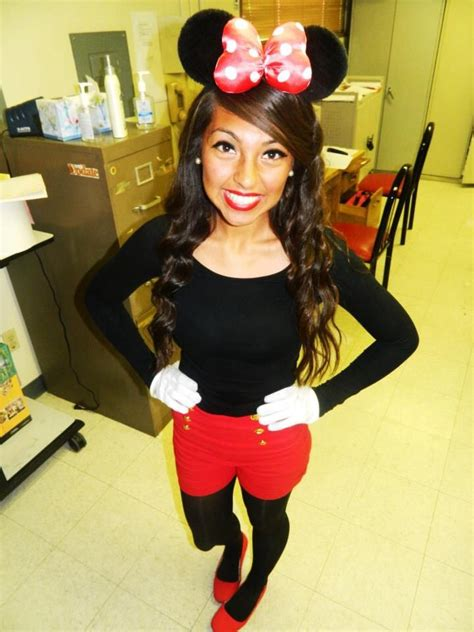 Handmade Minnie Mouse Costume - diy minnie mouse costume minnie mouse costumes