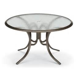 56 inch round glass top patio dining table furniture for patio