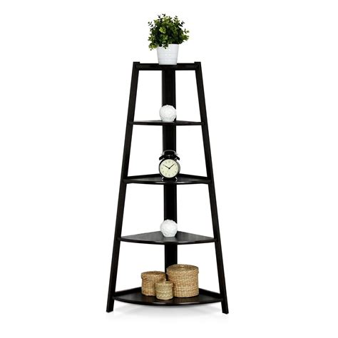 5 shelf ladder bookcase 187 top 12 amazing corner ladder shelves for your home office
