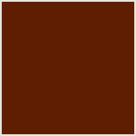 brown orange color 5f1e02 hex color rgb 95 30 2 brown bramble red orange