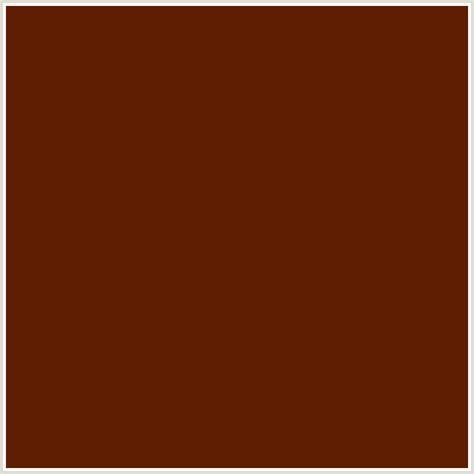 orange brown color 5f1e02 hex color rgb 95 30 2 brown bramble orange