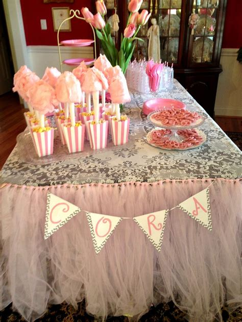 baby shower set up table set up for baby shower girl pink baby shower