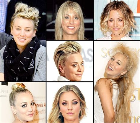 hairstyles through the years kaley cuoco s hairstyles over the years kaley cuoco s