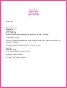 Authorization Letter Behalf Without Presence letter of authorization to act on behalf letter of