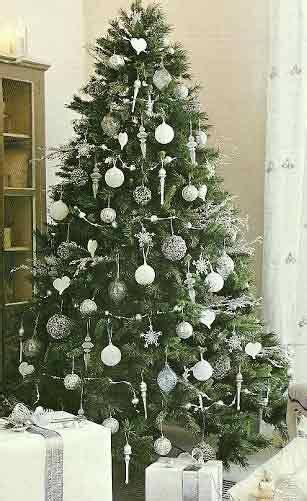decorar un rbol de navidad sencillo decoraci 243 n 193 rbol de navidad en blanco el de plan reforma planifica y haz realidad tu
