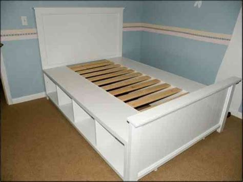 Diy Storage Bed Frame Storage Bed Frame Diy For