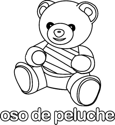 imagenes para colorear oso free coloring pages of oso de peluche