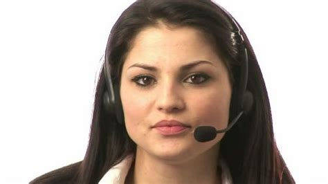 woman / hotline / working | hd stock video 932 183 515