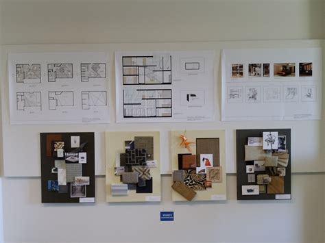 Cida Accreditation Review Student Projects On Display At Cida Accredited Interior Design Programs