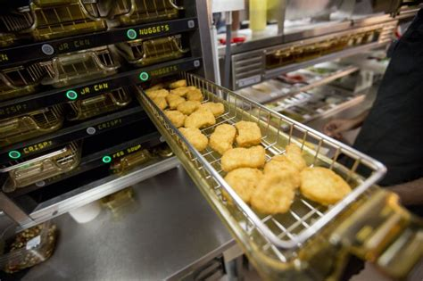 Mcdonalds Automated Kitchen by Why Mcdonald S Chicken Nuggets Only Come In Four Shapes