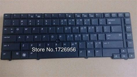 Keyboard Laptop Hp Elitebook 8440p new laptop qwerty replacement keyboard for hp elitebook 8440p 8440w black us layout in