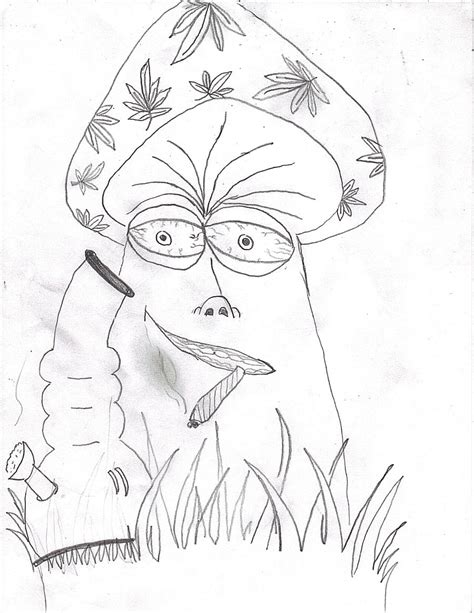 Weed Coloring Book Pages For Adults Coloring Pages Trippy Pot Leaf Coloring Pages