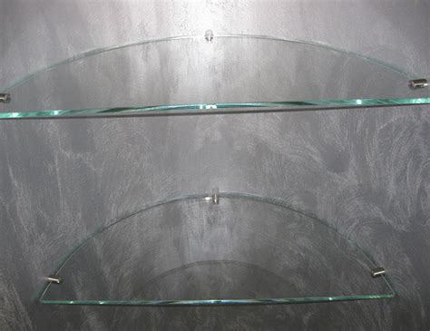 mensole cristallo su misura mensole cristallo vetreriaverona
