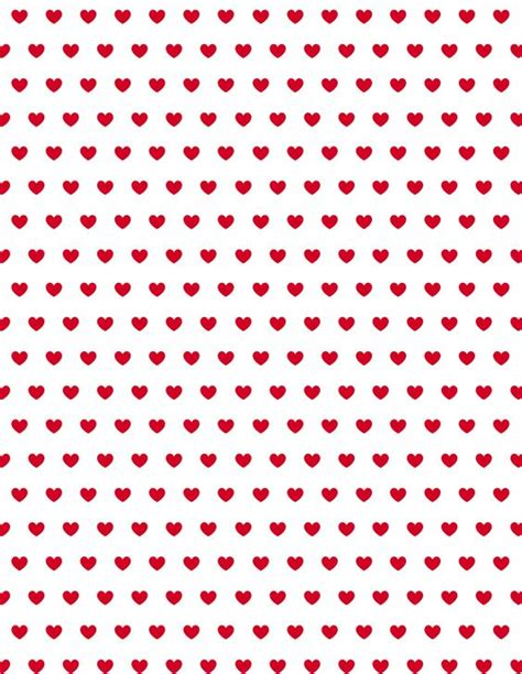 printable paper hearts free valentine hearts scrapbook paper red heart patterns