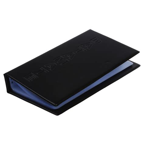 Name Card Holder 1 amico business name card credit card holder book for 240 card r9a1 ebay