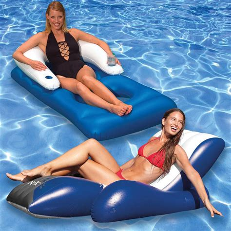 intex pool recliner intex floating recliner and classic swimming pool lounger