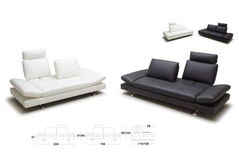 White Sofa Bed Leather White Leather Sofa Bed Kuka 1510 Sofa Beds