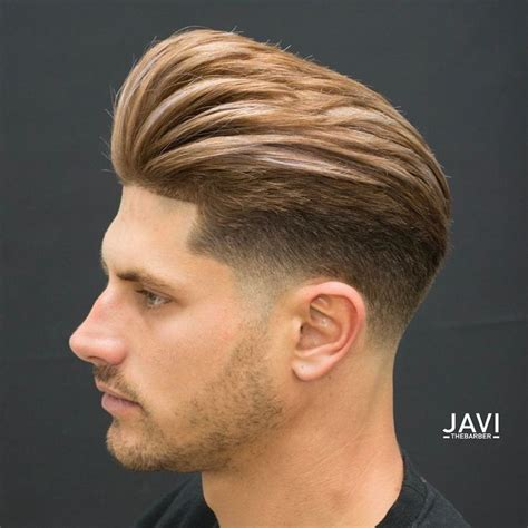 pompadour haircut mens best 25 pompadour fade ideas on pinterest