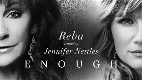 watch reba s empowering new going out like that video quot enough quot reba featuring jennifer nettles youtube